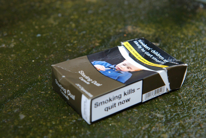 Erschrecken Raucher zu stoppen beginnt, um Dividenden zu zahlen