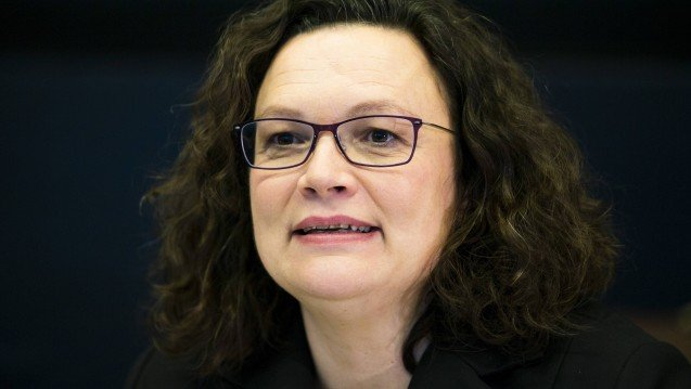 Nach langem Schweigen: Andrea Nahles befürwortet Cannabis-Modellprojekte
