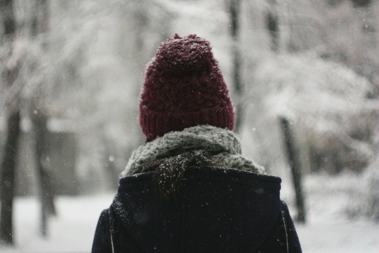 Es ist kalt. Setzen Sie auf einen Hut. Ernst.