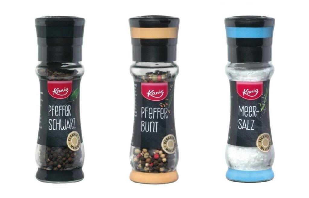 Bundesweiter Rückruf wegen Glassplitter in diesen Salz- und Pfefferstreuern von Lidl