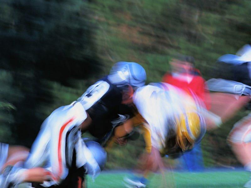 Erkrankung des Gehirns, CTE gesehen, in der H. S.-football-Spieler: Studie