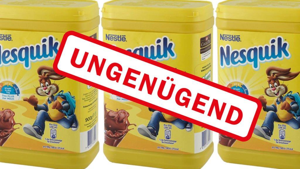 Beliebter Nesquik Kakao getestet und durchgefallen – Selbst vor Organschäden wird gewarnt!