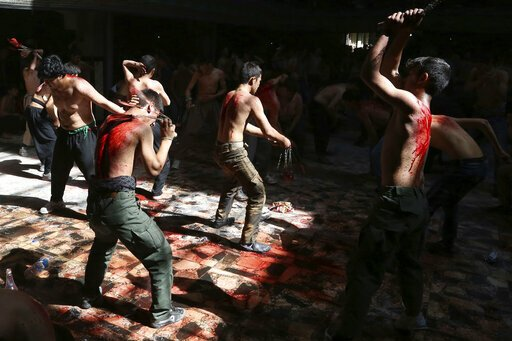 Mystery-Infektionen zurückgeführt Blut-vergießen religiösen ritual