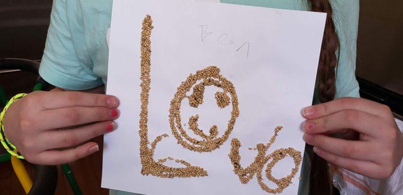 Kreative workshops helfen, Kinder zu entlasten stress mit der Kunst
