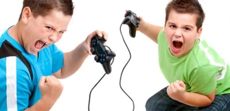 Violent video games, freigegeben Waffen eine gefährliche combo für Kinder