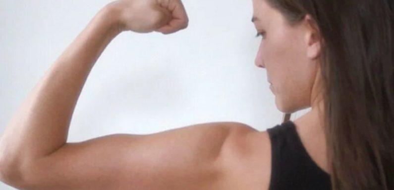 Kraft-training-übungen, die Sie überall machen kann