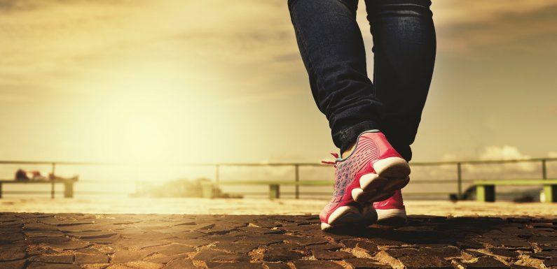 Zu Fuß vor dem Abendessen, nicht niedriger Blutzuckerspiegel bei Menschen mit Typ-2-diabetes