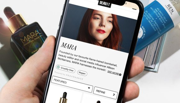 Kult-Beauty-Partner Mit Provenienz zu Ende Greenwashing Mit Blockchain-Technologie