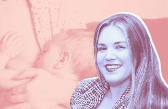 Kurvige Frau Influencer Sagt das Stillen Kämpfe Machte Sie Fühlen sich Hilflos in Relatable Post