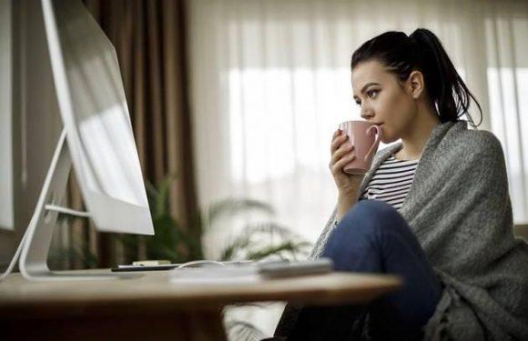 Blutkreislauf anregen: Geniale Tipps gegen das Frieren im Büro