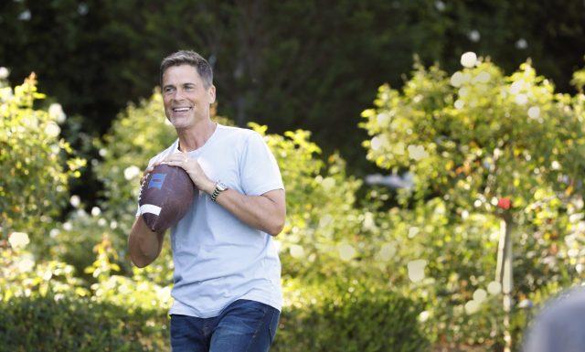 Rob Lowe Erweitert die Profil-Linie, Spricht Ein-Mann-Show und Virale Cap