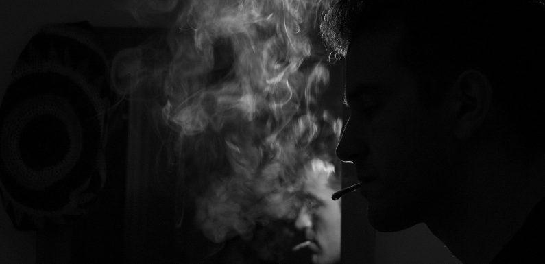 Die Zahl der Raucher in Japan die Schuld am fehlen der Bilder auf Zigarettenpackungen Warnungen und partielle Rauchverbote