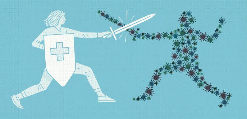 Impfstoffe sind wie teams: Sie arbeiten besser zusammen und wenn Sie halten Sie Sie aktualisierte