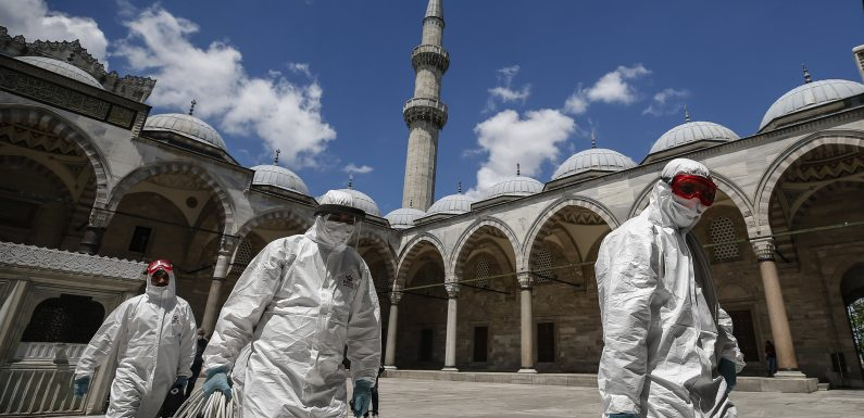 Die Türkei nähert sich das Ende der aktuellen lockdown, death toll bis auf 4,397