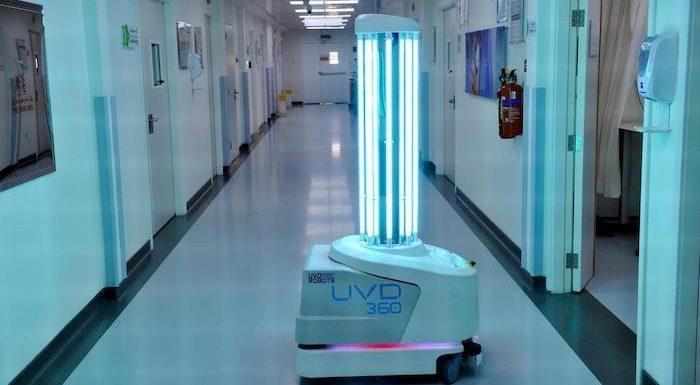 Dubai Health Authority setzt Roboter zur Desinfektion von Einrichtungen