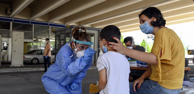 Serbien wieder einzuführen, virus lockdown-nach dem neuen Fall spike