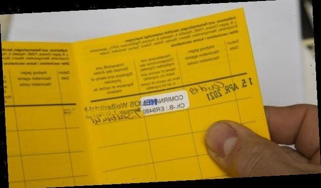 Biontech liefert fertige Sticker für die Impf-Dokumentation
