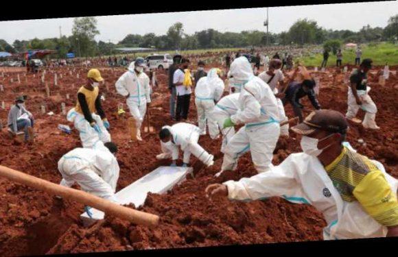 Von zwei Beerdigungen auf täglich 24: Ein Blick in das Corona-Epizentrum Indonesien